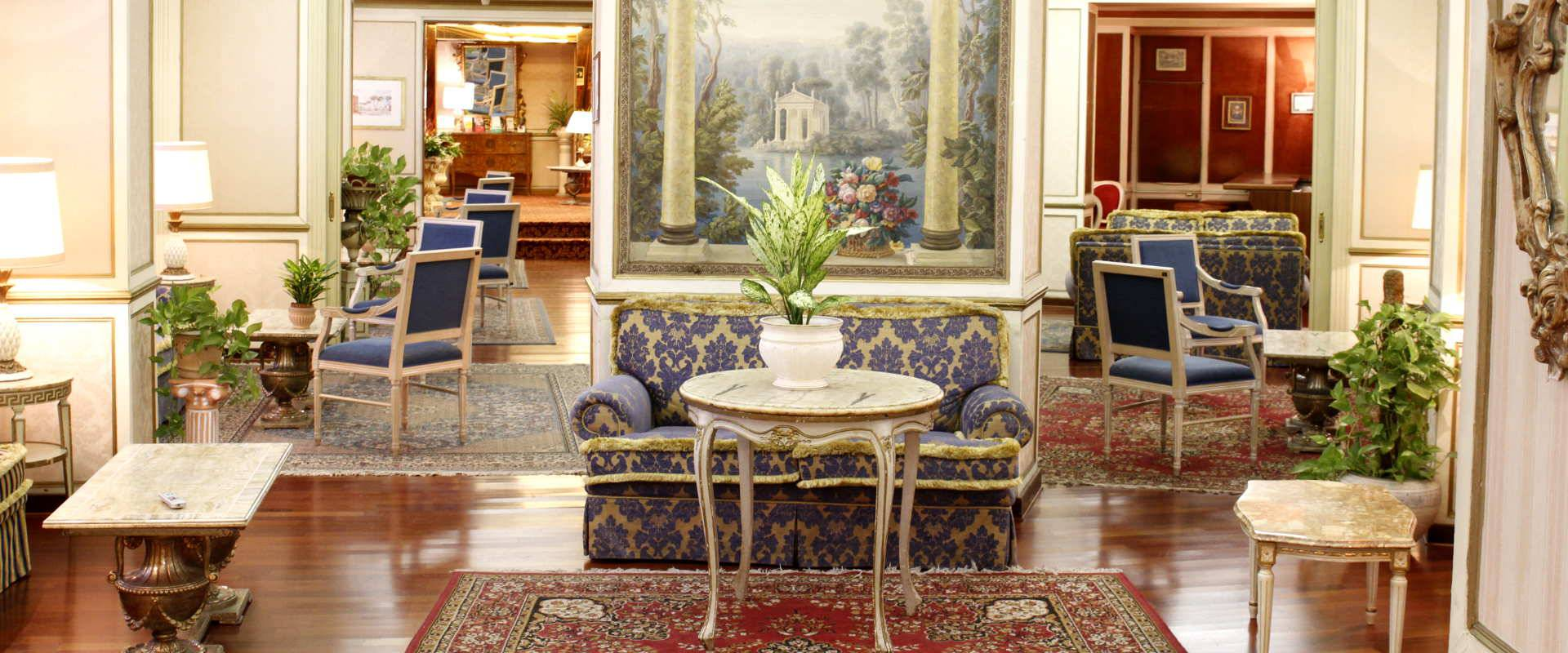 Your charming hotel in rome eliseo hotel